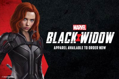 Black Widow products now on sale