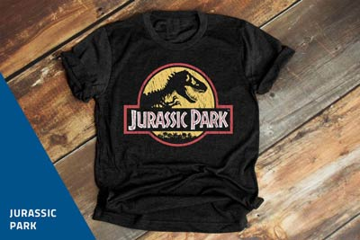 Jurassic Park products now on sale