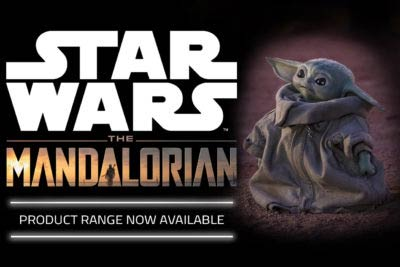 Mandalorian products now on sale